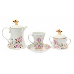 4.Сервиз чайный 14 предметов ф. Элегия рис. Анжелика (1 сорт)