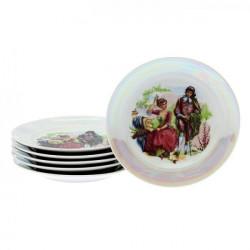 Набор тарелок 200 мм мелких 6 предметов Мадонна ф. Идиллия (1 сорт)