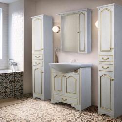 Набор мебели для ванной комнаты «Мандео» – вариант 1