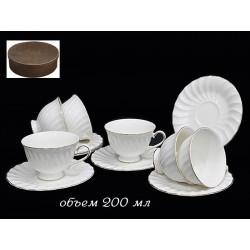 Чайный сервиз ELLE (12 предметов)
