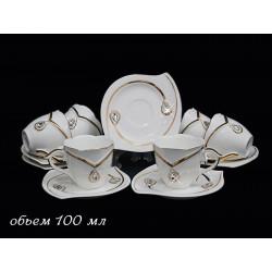 Кофейный сервиз Grand-D (12 предметов)