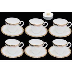 Кофейный сервиз NOIR (12 предметов)