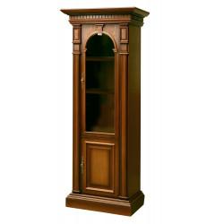 Шкаф-витрина Верона 6-1М (полки деревянные)