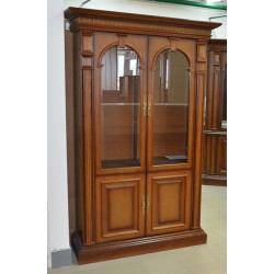 Шкаф-витрина Верона 7-1М (полки деревянные)