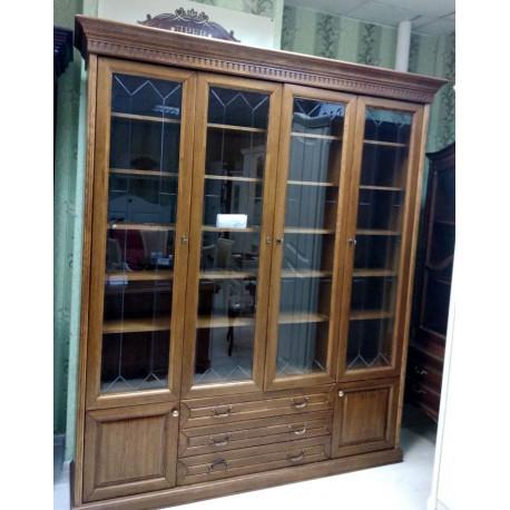 Шкаф для книг Государь 4-дверный