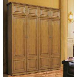 Шкаф 4-дверный комбинированный Орион 4 М ОР-0435/М (2 шт.) + антресольная секция 8 М ОР-3335/М (2 шт)