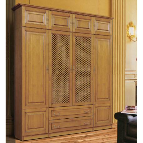 Шкаф 4-дверный комбинированный Орион (пример 1)