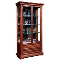 Шкаф с витриной и ящиками Престиж ГМ 5907Е