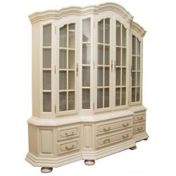 Шкаф для посуды с зеркалом Ноктюрн ГМ 5266С