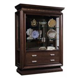 Шкаф с витриной и ящиками Сальери ГМ 5359Е