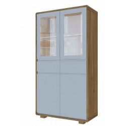 Шкаф витрина HV-002