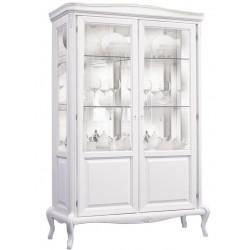 Шкаф с витриной Мокко ММ-306-02