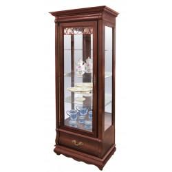 Шкаф с витриной Оскар ММ-210-01