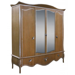 Шкаф для одежды Трио ММ-277-01/04