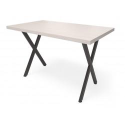 Обеденный стол Лофт Х  (шпон или массив дуба)