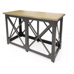 Барный стол Лофт N Ш (шпон или массив дуба)
