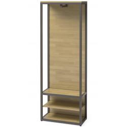 Шкаф-вешалка Нео Лофт ML-1 (шпон или массив дуба)
