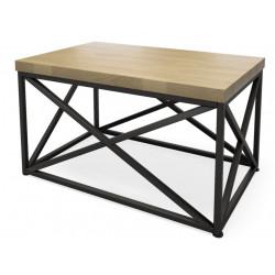Журнальный стол Нео Лофт СТ-1 (шпон или массив дуба)