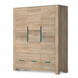 Шкаф 3-х створчатый Riva