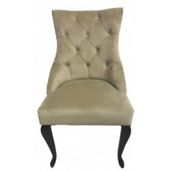 Полукресло (стул мягкий) HILTON (темный орех / беж)