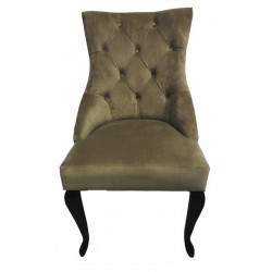 Полукресло (стул мягкий) HILTON (темный орех / коричневый)