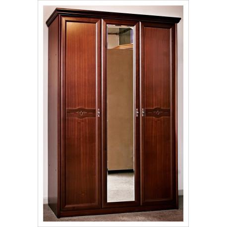 Шкаф для платья 3-дверный с зеркалом Н-94