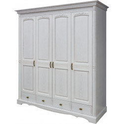 Шкаф 4-дверный Паола БМ-2164 (без зеркал)