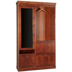 Шкаф для прихожей комбинированный