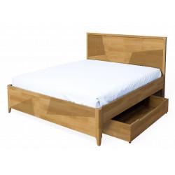 Кровать двуспальная Линея (без подъемного механизма)