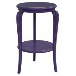 Подставка (круглый столик с полкой) Элиза-11-1
