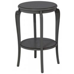 Подставка (круглый столик с полкой) Элиза-14-1