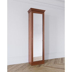 Шкаф Леди 1-дверный (450), зеркальный фасад
