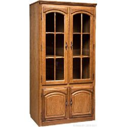 Шкаф с витриной Элбург БМ-1443