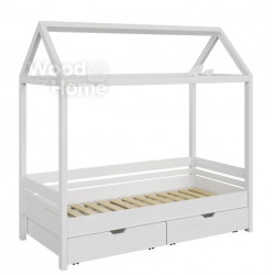 Домик-кроватка Wood Base (200x80)