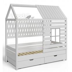 Домик-кроватка Wood Single (160x70)