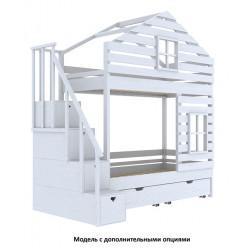 Домик-кроватка Wood Twin (200x100)