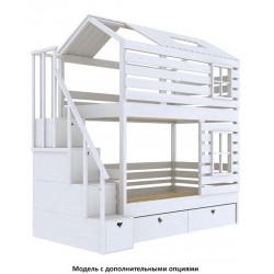 Домик-кроватка Wood Barn (200x100)