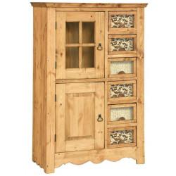 Шкаф для посуды с отделениями для круп ФАР ГР