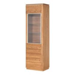 Витрина 1-дверная, левосторонняя Montenegro 10 L
