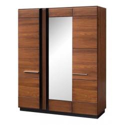 Шкаф для одежды 3-дверный с зеркалом Porti 73