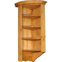 Угловой настенный шкаф № 23 R радиальный (правый или левый)