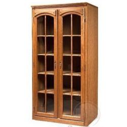 Шкаф Элбург БМ-1442 с витриной для книг