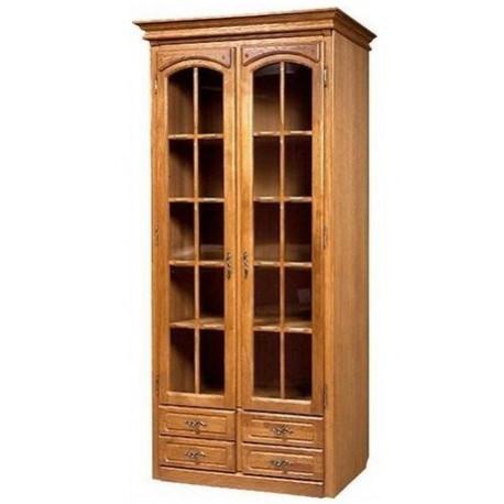 Шкаф Элбург БМ-1440 с витриной для книг