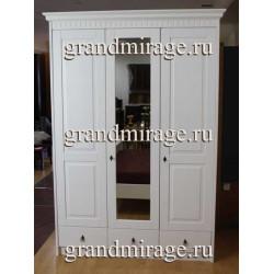 Шкаф 3-дверный Брайтон Р 6165 с зеркалом