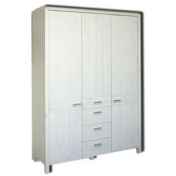 Шкаф 3-дверный Мадейра Д 6160