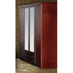 Шкаф для одежды и белья 4-дверный НГ-94