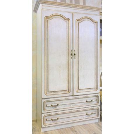 Шкаф ВН-0535/М Вилия №4.1 М в цвете белая эмаль (ЭЗ)