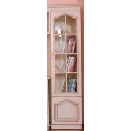 Шкаф комбинированный ВН-0235/С Вилия №2 С в цвете белая эмаль (ЭЗ)