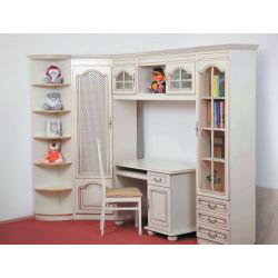 Детская (модульная стенка) Вилия-М со столом и стулом – пример 2