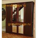 Шкаф комбинированный 4-дверный Карина (пример 1)